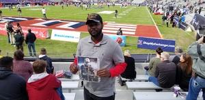 sylvester attended Lockhead Martin Armed Forces Bowl - NCAA Football on Dec 22nd 2018 via VetTix