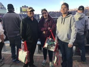 Ismael attended Lockhead Martin Armed Forces Bowl - NCAA Football on Dec 22nd 2018 via VetTix