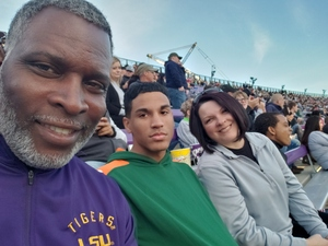 Thanks from the Clinton Family attended Lockhead Martin Armed Forces Bowl - NCAA Football on Dec 22nd 2018 via VetTix