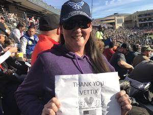 Teann attended Lockhead Martin Armed Forces Bowl - NCAA Football on Dec 22nd 2018 via VetTix