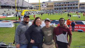 Joseph attended Lockhead Martin Armed Forces Bowl - NCAA Football on Dec 22nd 2018 via VetTix