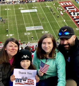 Michael attended Lockhead Martin Armed Forces Bowl - NCAA Football on Dec 22nd 2018 via VetTix