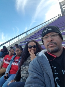 TRISH attended Lockhead Martin Armed Forces Bowl - NCAA Football on Dec 22nd 2018 via VetTix