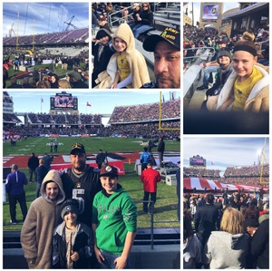 Kelly attended Lockhead Martin Armed Forces Bowl - NCAA Football on Dec 22nd 2018 via VetTix