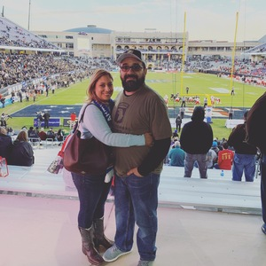 Jose attended Lockhead Martin Armed Forces Bowl - NCAA Football on Dec 22nd 2018 via VetTix