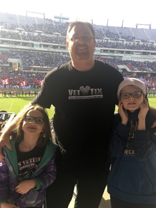 Rodney attended Lockhead Martin Armed Forces Bowl - NCAA Football on Dec 22nd 2018 via VetTix