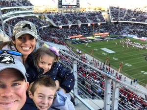 Nick attended Lockhead Martin Armed Forces Bowl - NCAA Football on Dec 22nd 2018 via VetTix
