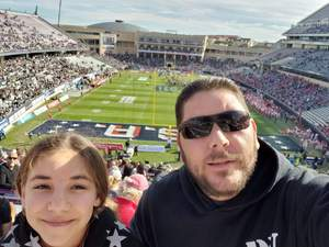 robert attended Lockhead Martin Armed Forces Bowl - NCAA Football on Dec 22nd 2018 via VetTix