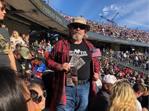 James attended Lockhead Martin Armed Forces Bowl - NCAA Football on Dec 22nd 2018 via VetTix