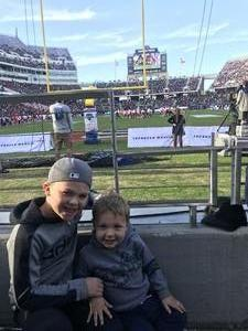 Chad attended Lockhead Martin Armed Forces Bowl - NCAA Football on Dec 22nd 2018 via VetTix