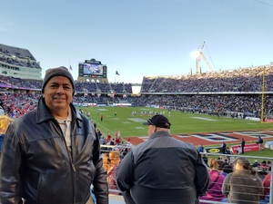 Abel Vincent Rosseett attended Lockhead Martin Armed Forces Bowl - NCAA Football on Dec 22nd 2018 via VetTix