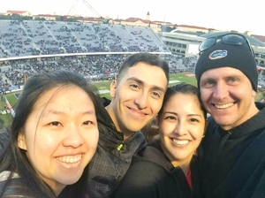 Jeanette attended Lockhead Martin Armed Forces Bowl - NCAA Football on Dec 22nd 2018 via VetTix