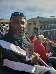 Douglas attended Lockhead Martin Armed Forces Bowl - NCAA Football on Dec 22nd 2018 via VetTix