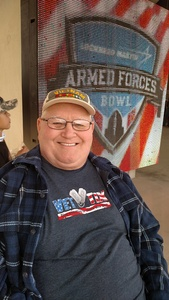 SMSGT Ret Robert attended Lockhead Martin Armed Forces Bowl - NCAA Football on Dec 22nd 2018 via VetTix