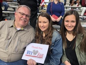 Lisa attended Lockhead Martin Armed Forces Bowl - NCAA Football on Dec 22nd 2018 via VetTix