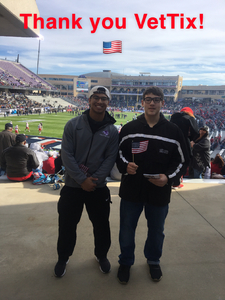 Randy attended Lockhead Martin Armed Forces Bowl - NCAA Football on Dec 22nd 2018 via VetTix