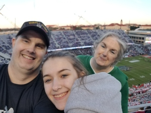 Christopher attended Lockhead Martin Armed Forces Bowl - NCAA Football on Dec 22nd 2018 via VetTix