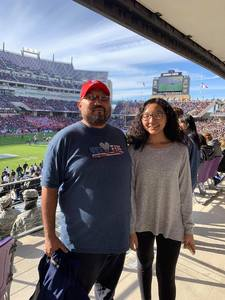 Tommie attended Lockhead Martin Armed Forces Bowl - NCAA Football on Dec 22nd 2018 via VetTix