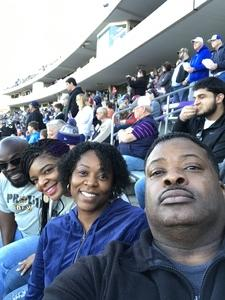 Verdell attended Lockhead Martin Armed Forces Bowl - NCAA Football on Dec 22nd 2018 via VetTix