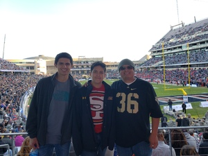Luis attended Lockhead Martin Armed Forces Bowl - NCAA Football on Dec 22nd 2018 via VetTix