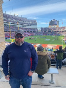 Edwin attended Lockhead Martin Armed Forces Bowl - NCAA Football on Dec 22nd 2018 via VetTix