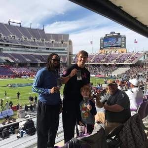 Monte attended Lockhead Martin Armed Forces Bowl - NCAA Football on Dec 22nd 2018 via VetTix