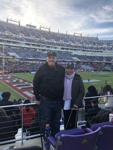 Mark attended Lockhead Martin Armed Forces Bowl - NCAA Football on Dec 22nd 2018 via VetTix