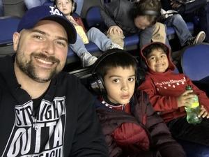 Michael attended Monster Jam Triple Threat Series on Jan 18th 2019 via VetTix