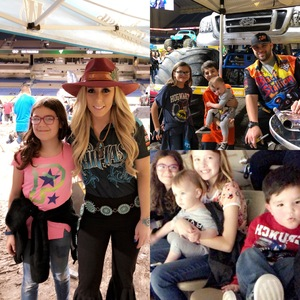 Foust Family attended Monster Jam on Jan 12th 2019 via VetTix