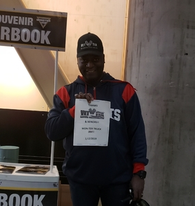 Andre attended Monster Jam on Jan 12th 2019 via VetTix