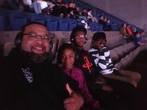 Darrell attended Monster Jam on Jan 12th 2019 via VetTix