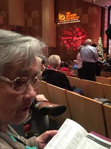 Maria Asuncion attended The Phoenix Symphony - Holiday Pops - Saturday Matinee on Dec 1st 2018 via VetTix