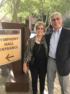Ted attended The Phoenix Symphony - Holiday Pops - Saturday Matinee on Dec 1st 2018 via VetTix