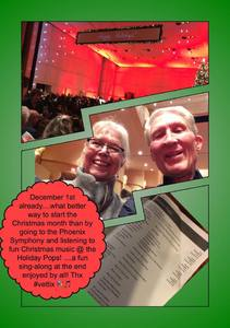 Stephen attended The Phoenix Symphony - Holiday Pops - Saturday Matinee on Dec 1st 2018 via VetTix