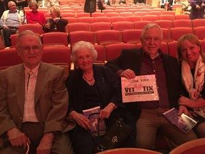 Gene attended The Phoenix Symphony - Holiday Pops - Saturday Matinee on Dec 1st 2018 via VetTix