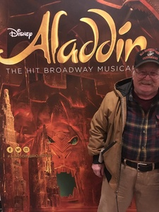 Michael attended Disney's Aladdin - Des Moines Performing Arts - Matinee on Nov 29th 2018 via VetTix