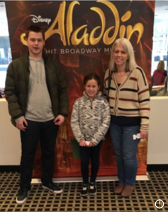 Jeffrey attended Disney's Aladdin - Des Moines Performing Arts - Matinee on Nov 29th 2018 via VetTix