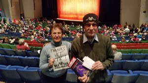 John attended Disney's Aladdin - Des Moines Performing Arts - Matinee on Nov 29th 2018 via VetTix