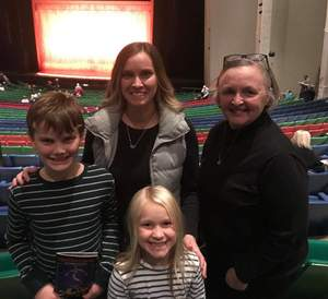 Barbara attended Disney's Aladdin - Des Moines Performing Arts - Matinee on Nov 29th 2018 via VetTix