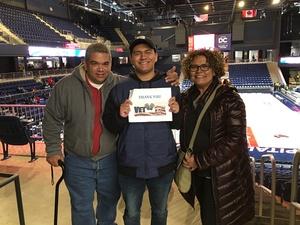 Gustavo attended Capital City Go-go vs. Long Island Nets - Nbdl on Dec 29th 2018 via VetTix