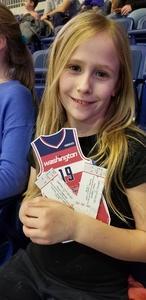 Beckett Family attended Capital City Go-go vs. Long Island Nets - Nbdl on Dec 29th 2018 via VetTix