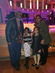 Carlos Brown Sr attended Holiday Pops - Presented by National Philharmonic on Dec 7th 2018 via VetTix