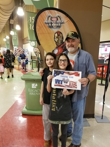 David attended Marvel Universe Live! Age of Heroes on Feb 7th 2019 via VetTix