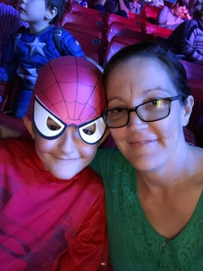 Kimberly attended Marvel Universe Live! Age of Heroes on Feb 7th 2019 via VetTix