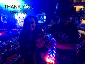 John attended Marvel Universe Live! Age of Heroes on Feb 7th 2019 via VetTix
