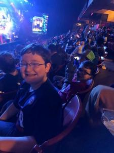 Shawn attended Marvel Universe Live! Age of Heroes on Feb 7th 2019 via VetTix