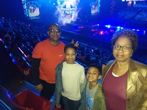 Antoine attended Marvel Universe Live! Age of Heroes on Feb 7th 2019 via VetTix