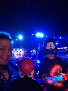James attended Marvel Universe Live! Age of Heroes on Feb 7th 2019 via VetTix