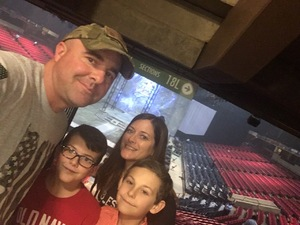Dustin attended Marvel Universe Live! Age of Heroes on Feb 7th 2019 via VetTix
