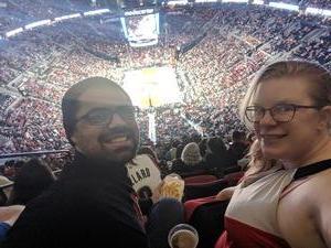Michael attended Portland Trail Blazers vs. Orlando Magic - NBA on Nov 28th 2018 via VetTix